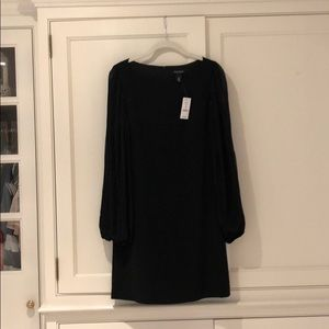 White House Black Market Sheet Sleeved Dress
